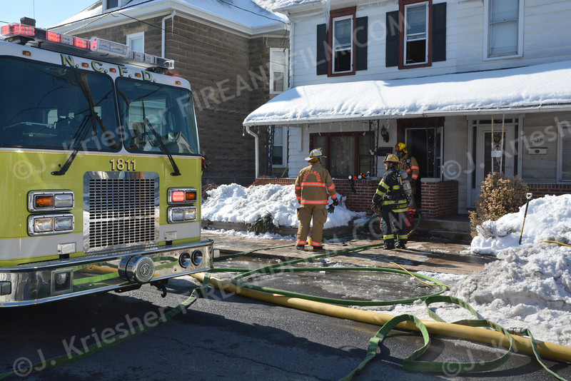 Northampton County - Northampton Borough - Dwelling Fire - 02/07/2014